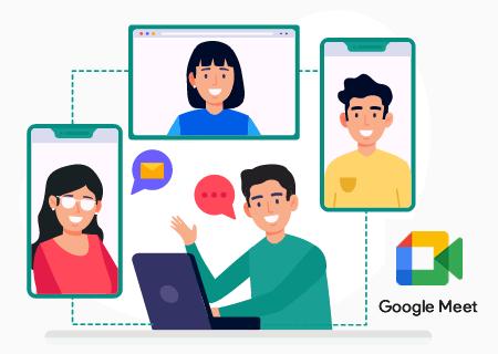 Mantén tu equipo conectado con Google Meet sin costo